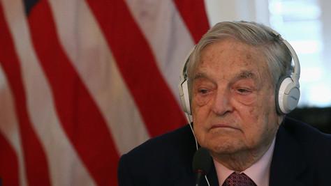 Soros: l'agitateur.