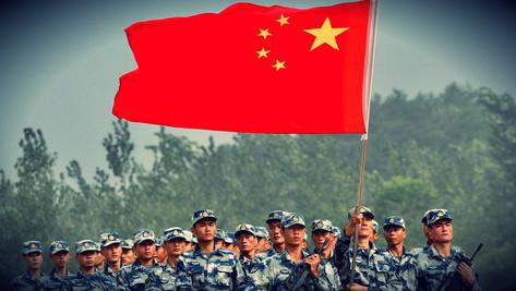L'armée chinoise se tient prête à la guerre.