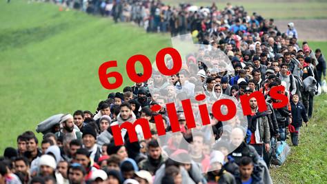 600 millions d'euros pour intégrer les migrants. Sacrée somme.