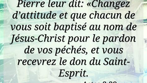 Change d'attitude au nom de Jésus Christ... et ouais !