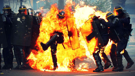 Police VS Peuple: diviser pour mieux régner, le piège.