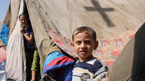 """""""Jésus nous a sauvés"""", témoignage d'un réfugié Syrien ancien musulman."""