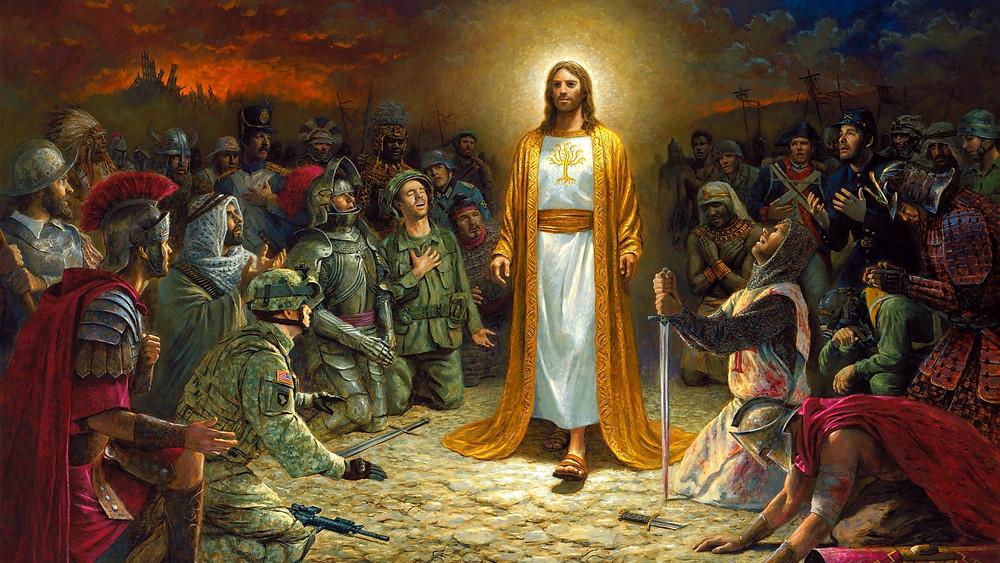 Le retour du Christ et l'Homme qui se repend