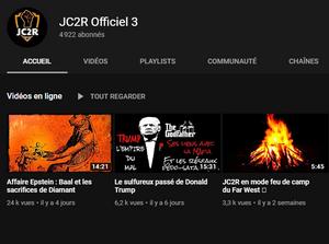 Chaîne YouTube JC2R Officiel 3