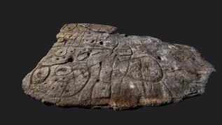 France: redécouverte de la plus ancienne carte d'Europe gravée sur une dalle de pierre