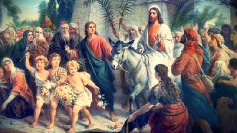 Dimanche des Rameaux: l'entrée triomphale de Jésus à Jérusalem !