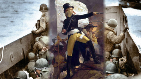 6 juin, 2ème GM: l'arnaque mondialiste et chant militaire français (vidéo)