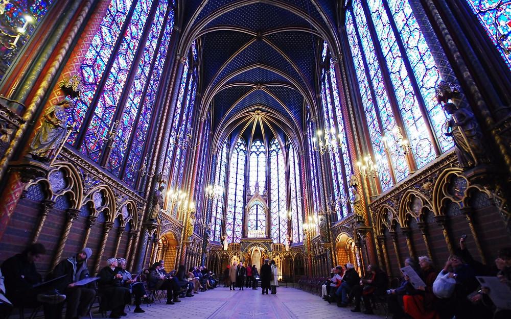 sainte chapelle, symbole de la vraie France, héritage