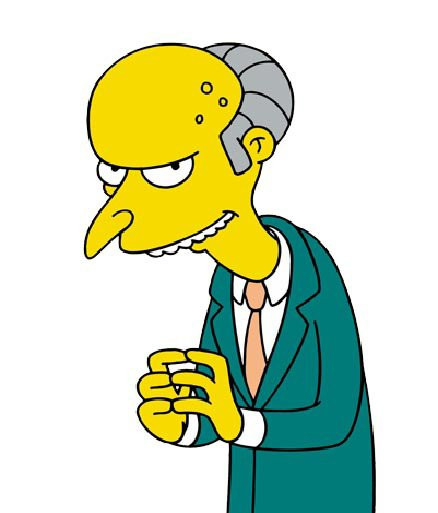 Charles Montgomery Burns, personnage des Simpsons