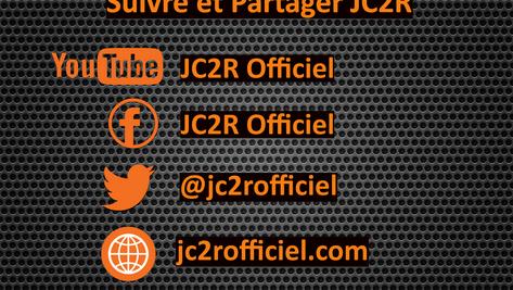 Instant pub ! Où suivre et partager JC2R ?