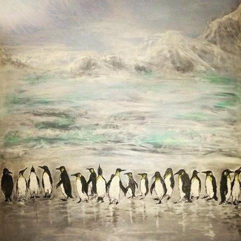 """Pick up a Penguin"" Sold"