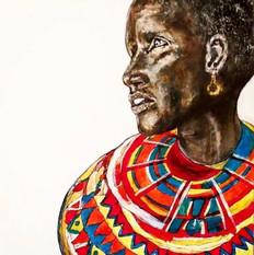 Masai Women ....Sold