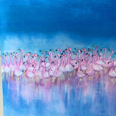 Pink Flamingo Club .....Sold