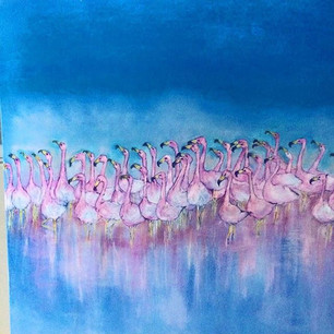 Pink Flamingo Club .....Sold