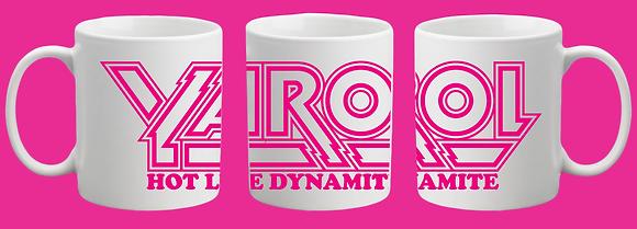 """Yarol Poupaud """"Hot Like Dynamite"""" Mug Set"""