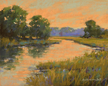 Tidal Marsh Reflection
