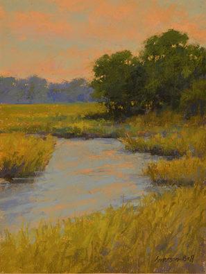 Spring Tidal Marsh