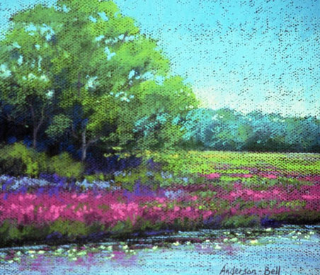 Loosestrife By The Creek