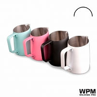 Wpm milk pitcher 450cc 圓尖嘴 奶勺 Tiffany Blue Pink Black White 藍 粉紅 黑白
