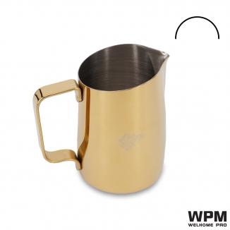 Spout Color-Coated Milk Pitcher-Gold
