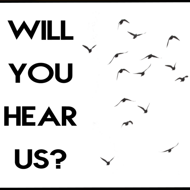 Logo film Will You Hear Us par Simon Maurissen
