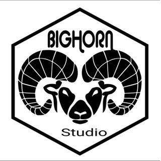 Logo Bighorn Studio par Simon Maurissen
