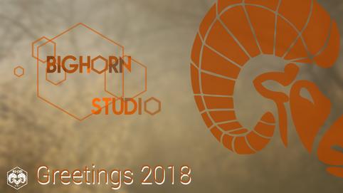 Bighorn Studio's greetings 2018