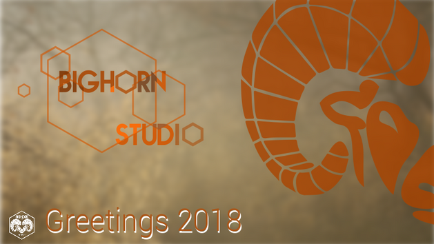Bighorn Studio's greetings 2018