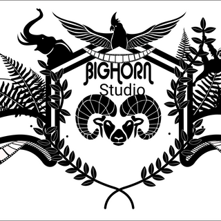 Blason Bighorn Studio par Simon Maurissen