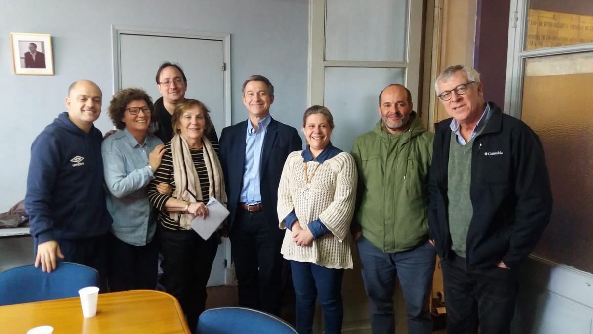 Clase de Didier Fassin para maestrandos y doctorandos en la FHCE