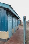 Rehabilitated latrine units in Turkana Kenya
