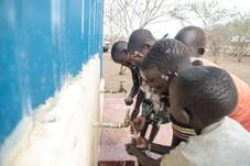 Children Using WASH facility