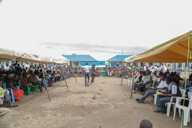 Wide View of WASH ceremony