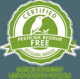 SCS Pesticide Residue Free