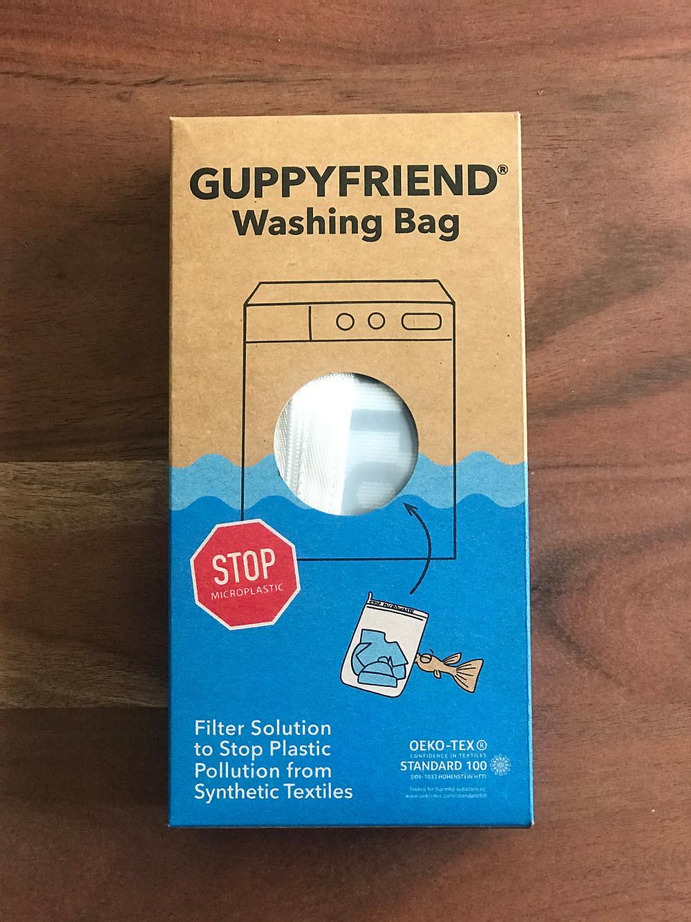 GUPPYFRIEND Washing Bag Microplastics Pollution