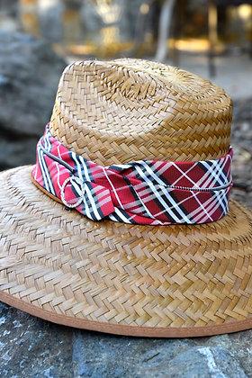 Classic Red Plaid Fabric, Triple Wrapped Original RIATA