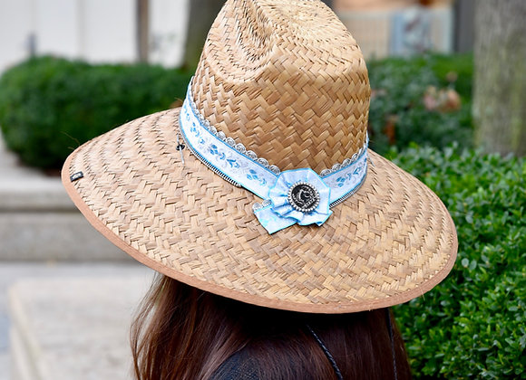 Blue Jacquard Ribbon Original RIATA