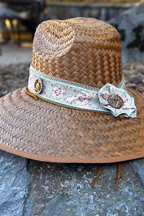 Tiffany Blue Jacquard Ribbon Wrapped Original RIATA