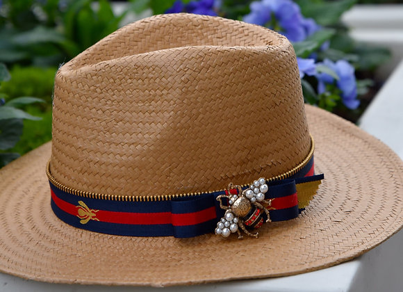 BEE YOU Hunter Derby RIATA - Navy & Red