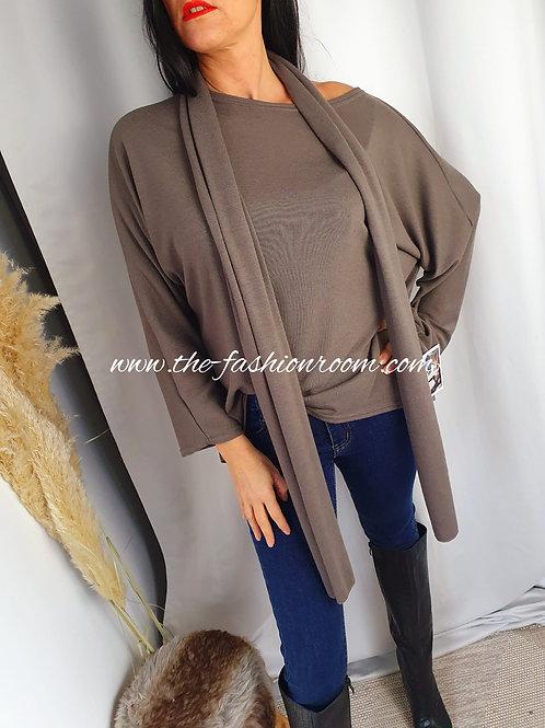 blouse et foulard
