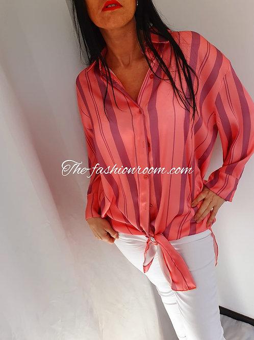 chemise en satin