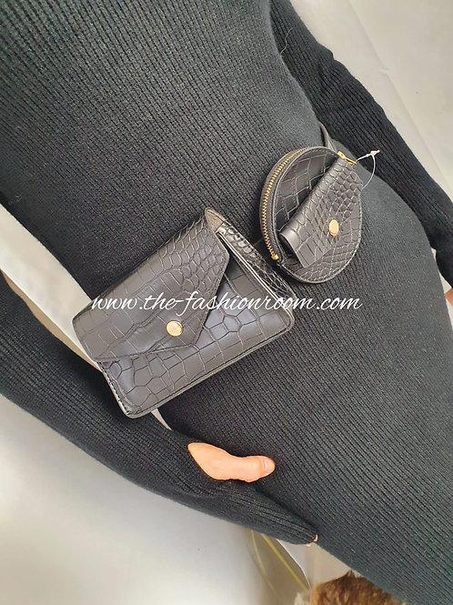 ceinture avec pochette