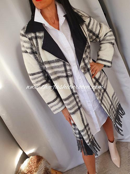 chemise/manteaux à carreaux