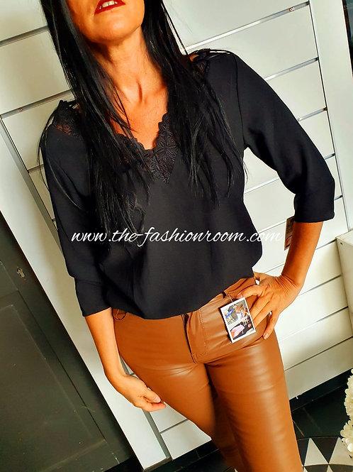 blouse dos nu