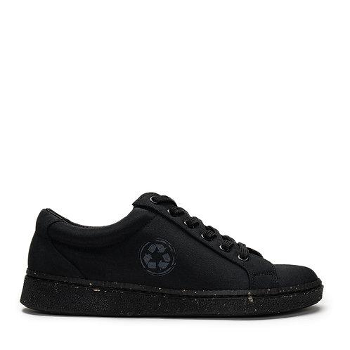 Ganges Black Eco Derby Sneakers