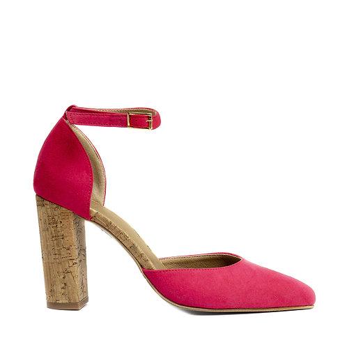 Bella Pink Vegan D'orsay Shoes