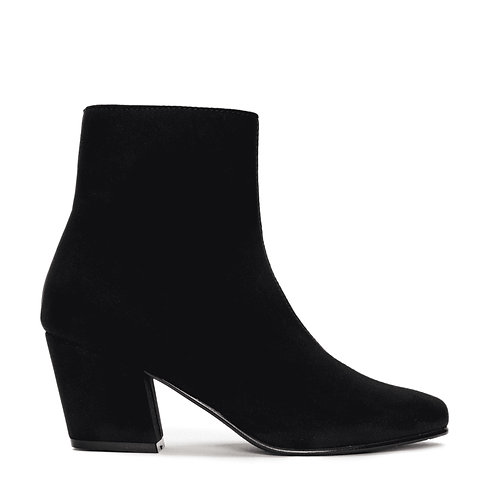 Jeanne Black Vegan Boots