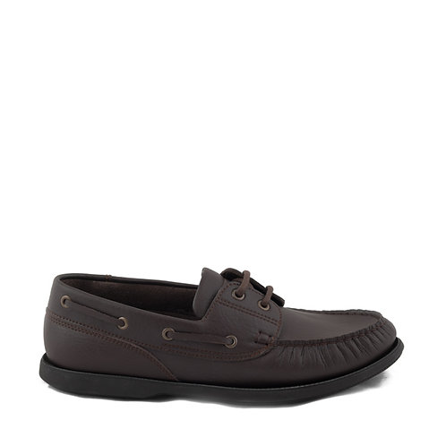 Diego Brown Vegan Boat Shoes