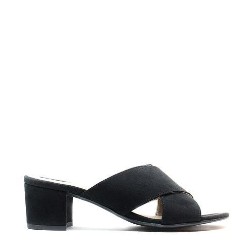 Anita Black Vegan Sandals