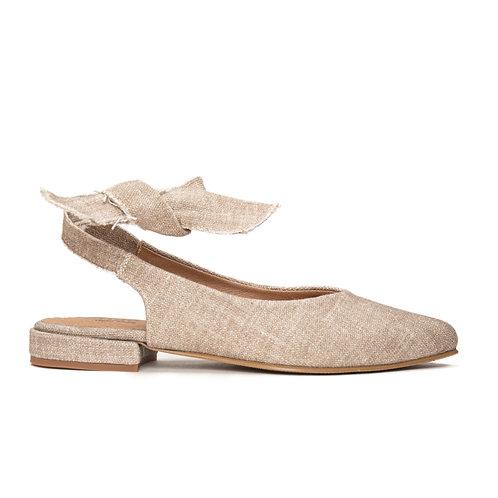 Beth Beige Organic Cotton Shoes